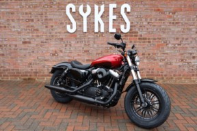 NEW 2019 XL1200X Sportster Forty-Eight, in Wicked Red and Twisted Cherry thumb 3