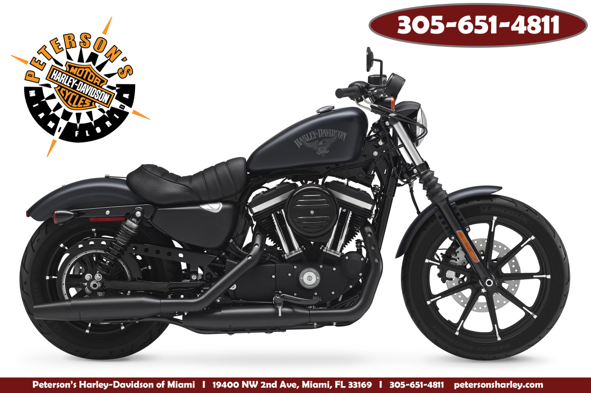 Used 2018 Harley Davidson XL883N Iron 883 Sportster For Sale Ft Lauderdale Florida