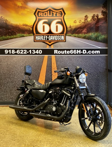 Black Denim 2019 Harley-Davidson 883 Iron XL883N