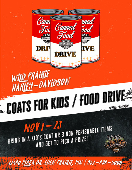 Coats for Kids & Food Drive