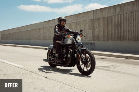 GET ON A SPORTSTER FOR AS LOW AS $129* PER MONTH