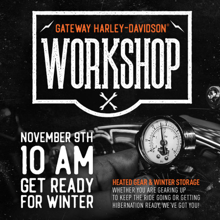 Workshop: Get ready for Winter