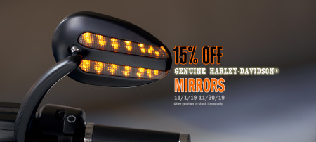 15% Off Motorcycle Mirrors