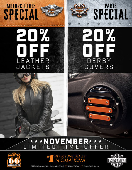MotorClothes & Parts Monthly Specials