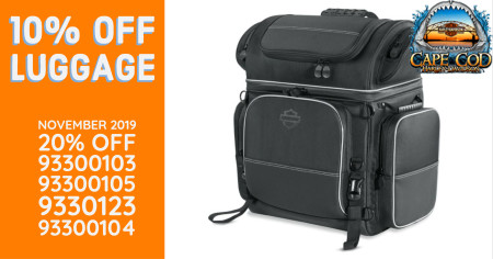 10% OFF luggage during November