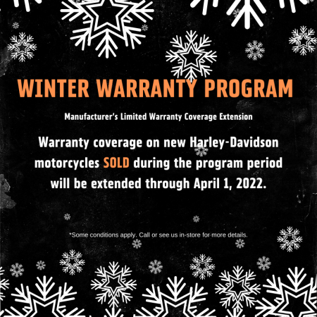 WINTER WARRANTY PROGRAM