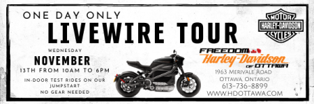 THE LIVEWIRE® EXPERIENCE TOUR