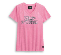 Pink Label V-neck Tee