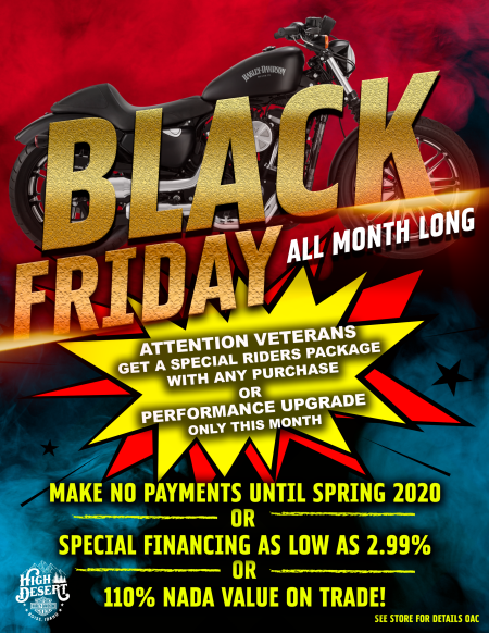 Black Friday - ALL MONTH LONG