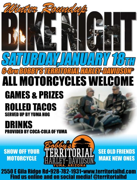 Winter Roundup Bike Night