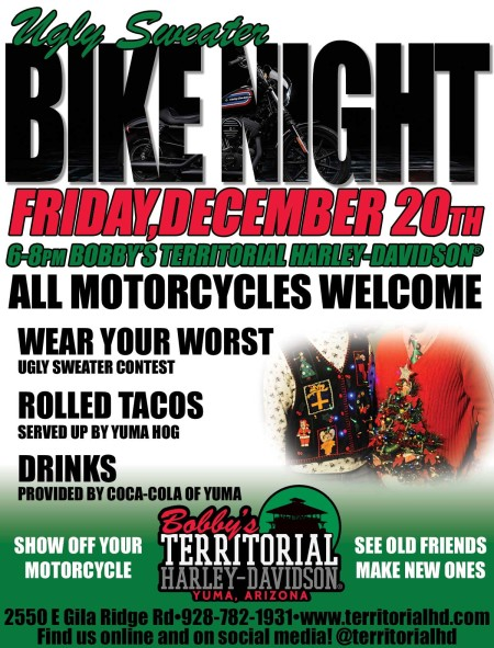 Ugly Sweater Bike Night