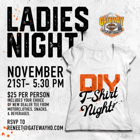 Ladies Night: DIY Shirt