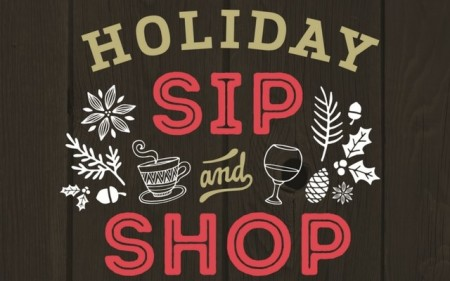 Holiday Sip 'n' Shop