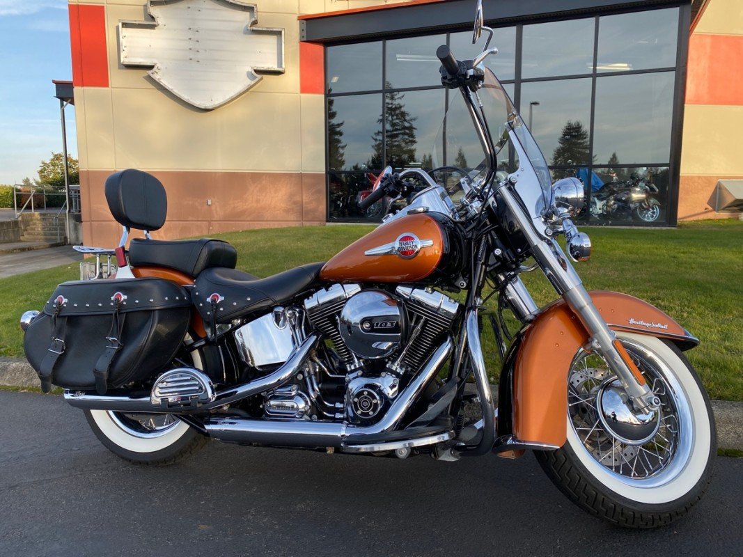 Used 2016 Heritage Softail Classic