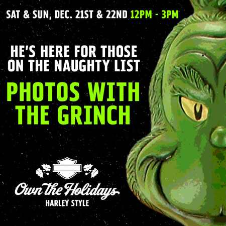 Free Photos With The Grinch On A Harley