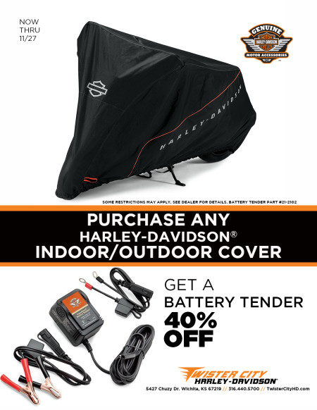 Get a Battery Tender 40% Off!