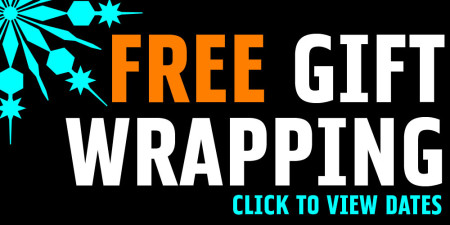 GIFT WRAPPING- CLICK FOR DATES & TIMES