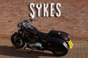 2018 Ex-Demo Harley-Davidson FLSB Softail Sport Glide in Twisted Cherry thumb 0
