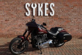 2018 Ex-Demo Harley-Davidson FLSB Softail Sport Glide in Twisted Cherry thumb 2