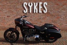 2018 Ex-Demo Harley-Davidson FLSB Softail Sport Glide in Twisted Cherry thumb 1