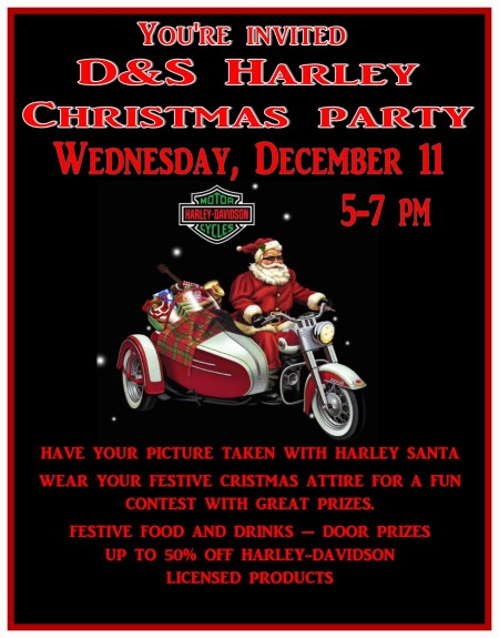 D&S Harley Christmas Party
