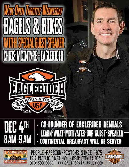 Wide Open Throttle Wednesday  with Special Guest Speaker Chris McIntyre