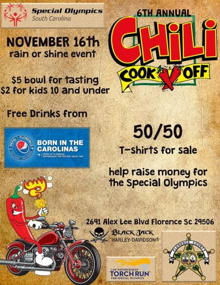 6th Annual Chili Cook Off