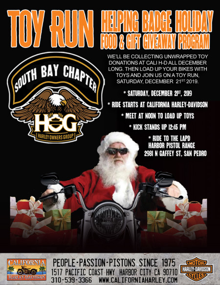 Helping Badge Holiday Toy Run