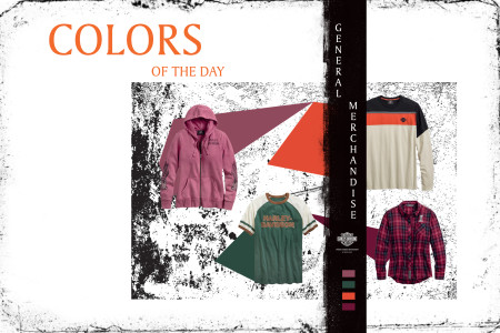 General Merchandise  colors of the day
