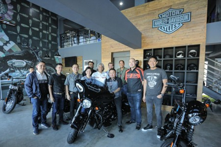Harley-Davidson roundtable discussion