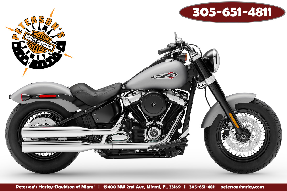 New 2020 Harley Davidson FLSL Softail Slim Motorcycle For Sale Miami Florida