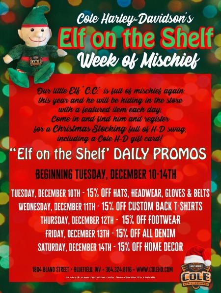 Elf on the Shelf - Week of Mischief