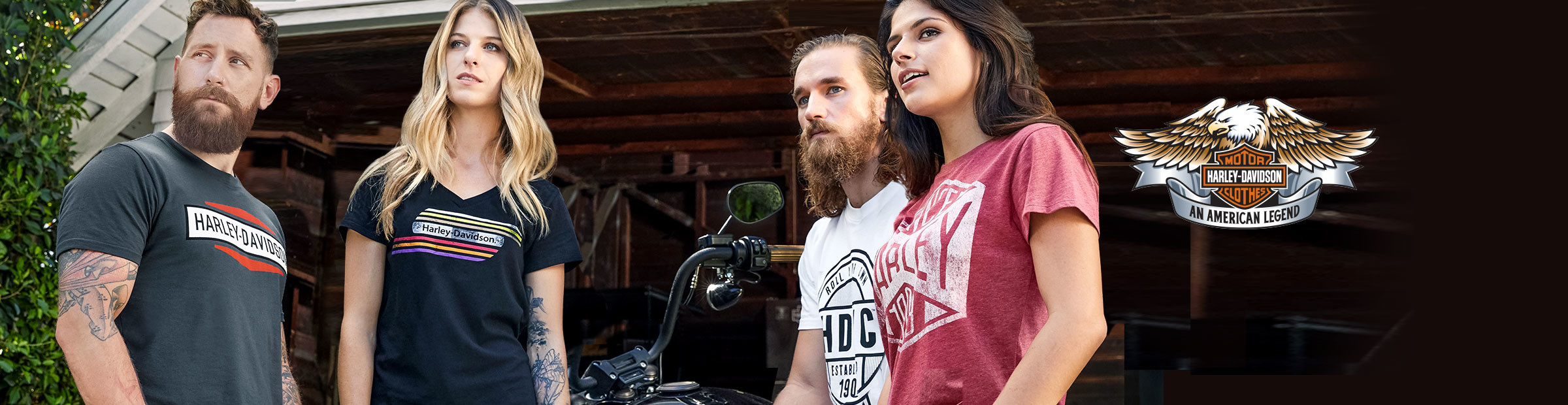 Harley-Davidson® riding gear and apparel