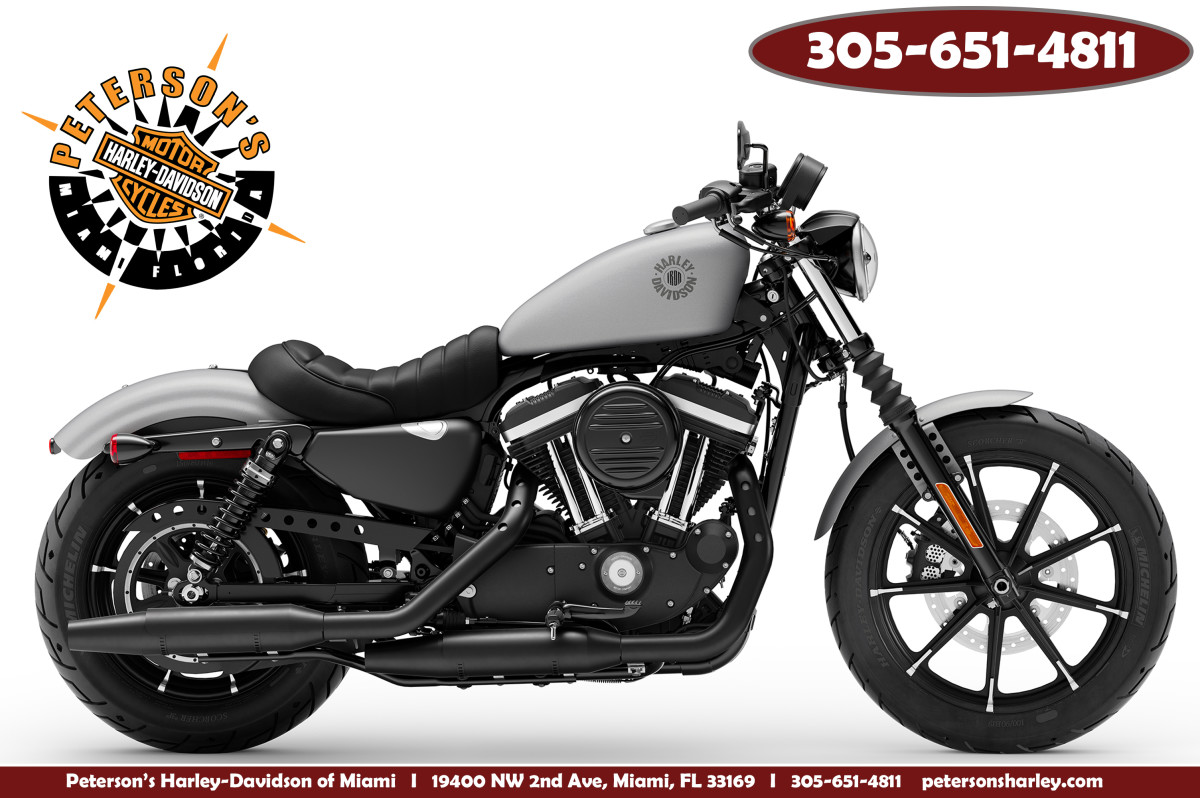 New 2020 Harley Davidson XL883N Iron 883 Sportster For Sale Miami Florida