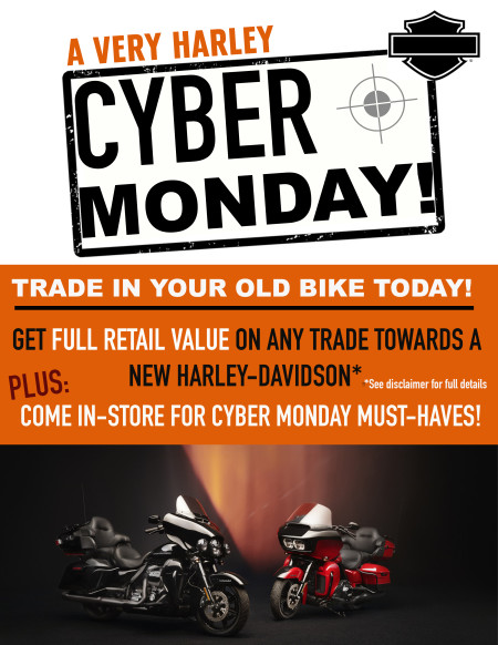 Cyber Monday Trade-In Sales Event