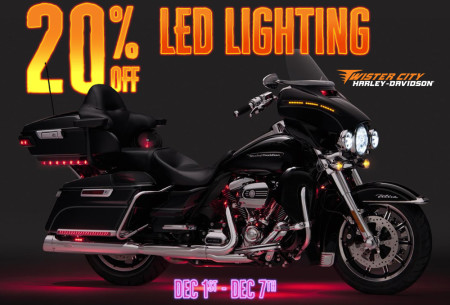 20% off LED Lighting