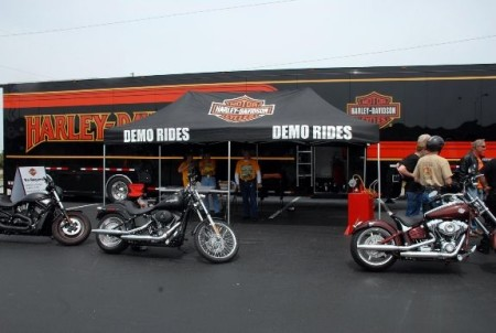 H-D LiveWire Demo Truck