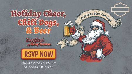 Holiday Cheer, Chili Dogs, & Beer at Doerflers' H-D