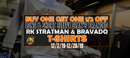 Buy one get one half price RK Stratman & Bravado t-shirt offer