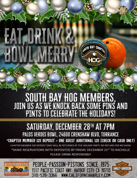 South Bay HOG - Holiday Party