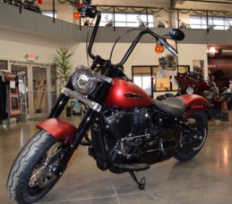 2019 Softail Slim Wicked Red Denim thumb 0