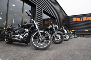 Take a look around the Manchester H-D Showroom!