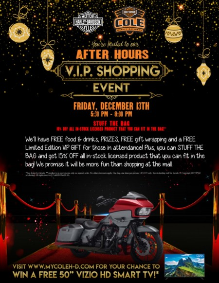 AFTER HOURS VIP Shopping Event