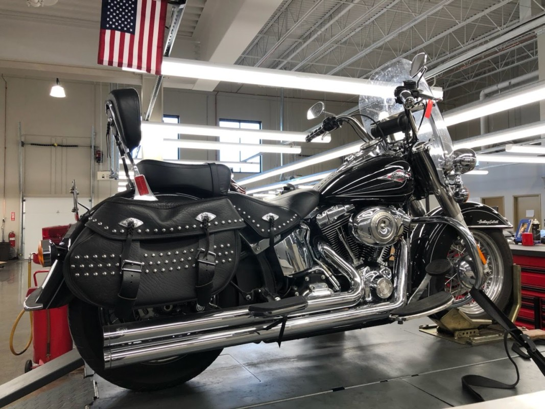 2011 Harley Davidson Heritage Softail<sup>®</sup> Classic FLSTC