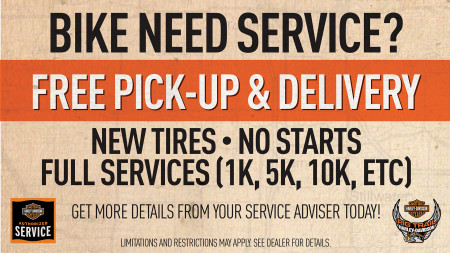 Service Pick-Up & Delivery