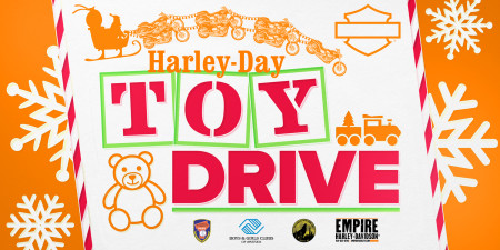 Harley-Day Toy Drive Weekend