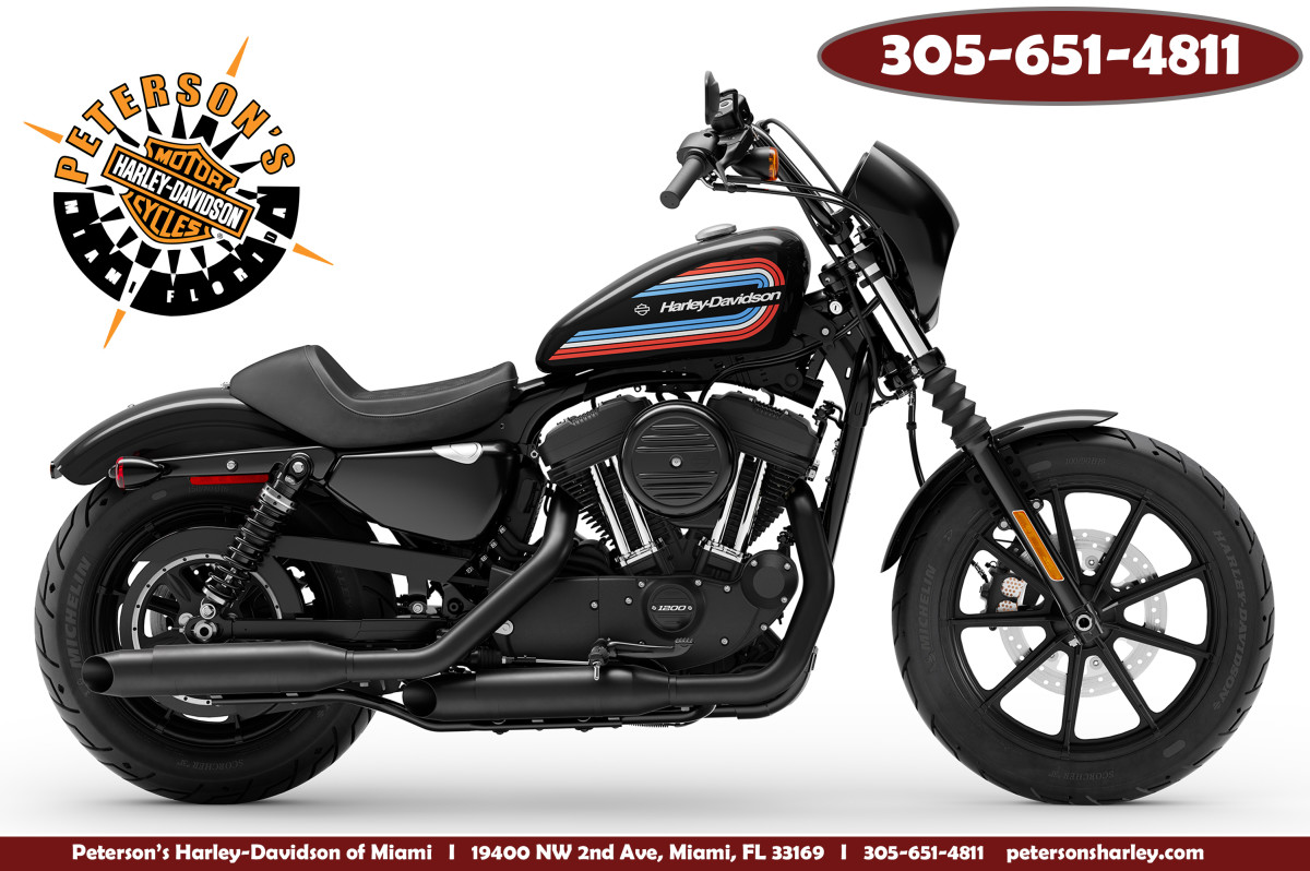 New 2020 Harley Davidson XL1200NS Iron 1200 Sportster Motorcycle For Sale Sunrise Florida