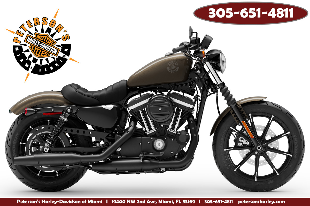 New 2020 Harley Davidson XL883N Iron 883 Sportster Motorcycle For Sale Sunrise Florida