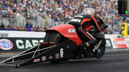 A SIX TIME DRAG RACING CHAMP SPILLS SECRET OF GOING FAST ON TWO WHEELS