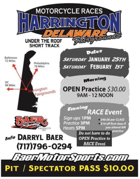 Harrington DE Motorcyle Races